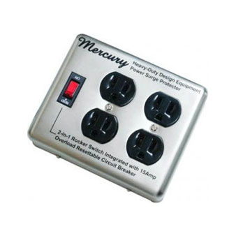 4 Outlet Steel Case